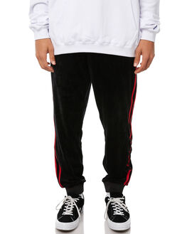 BLACK MENS CLOTHING STUSSY PANTS - ST085612BLK