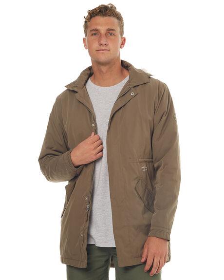 OLIVE MENS CLOTHING RHYTHM JACKETS - JUL17-JK01-OLI