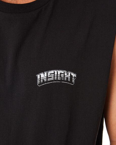 BLACK MENS CLOTHING INSIGHT SINGLETS - 1000083862BLK