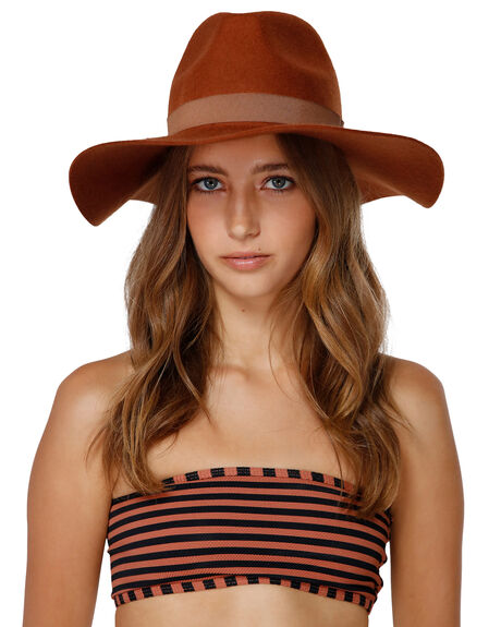 CACAO WOMENS ACCESSORIES BILLABONG HEADWEAR - BB-6691312-C3A