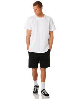 BLACK MENS CLOTHING SWELL SHORTS - S5161248BLACK