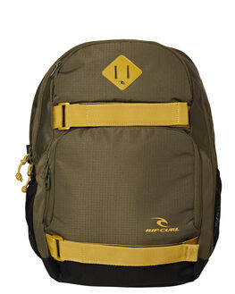MILITARY GREEN MENS ACCESSORIES RIP CURL BAGS + BACKPACKS - BBPWH10854