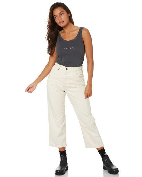 EBONY WOMENS CLOTHING THRILLS SINGLETS - WTW20-150BEBY