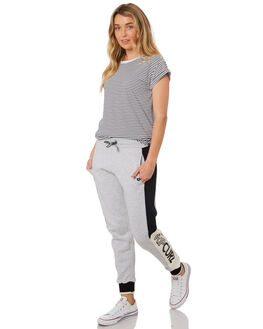LIGHT GREY HEATHER WOMENS CLOTHING RIP CURL PANTS - GPAEC13233