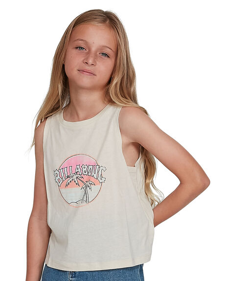 WHITECAP KIDS GIRLS BILLABONG TOPS - BB-5504491-WTC