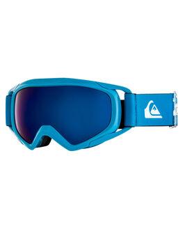 DAPHNE BLUE ANIMAL BOARDSPORTS SNOW QUIKSILVER GOGGLES - EQBTG03007BQC1