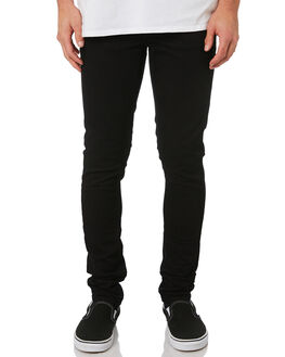BLACK BLACK MENS CLOTHING NUDIE JEANS CO JEANS - 111539MBLK
