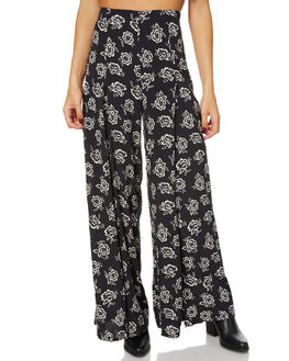 BLACK ROSE WOMENS CLOTHING THE HIDDEN WAY PANTS - H8161191BLKR