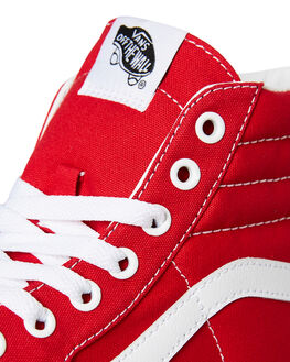 RACING RED WOMENS FOOTWEAR VANS SNEAKERS - SSVNA38GEVS5RREDW