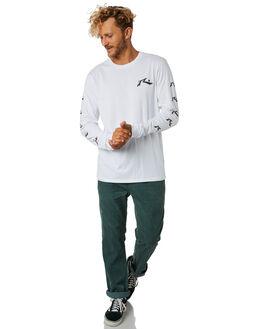WHITE MENS CLOTHING RUSTY TEES - TTM2129WHT