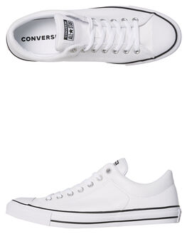 WHITE WOMENS FOOTWEAR CONVERSE SNEAKERS - SS149429WHIW