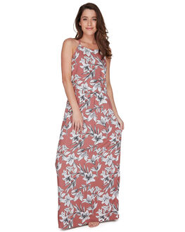 WITHERED ROSE LILY WOMENS CLOTHING ROXY DRESSES - ERJWD03242MMG6