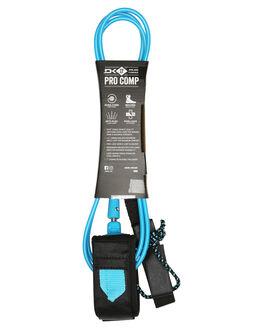 BLACK BLUE BOARDSPORTS SURF DAKINE LEASHES - 10001797BLKBL