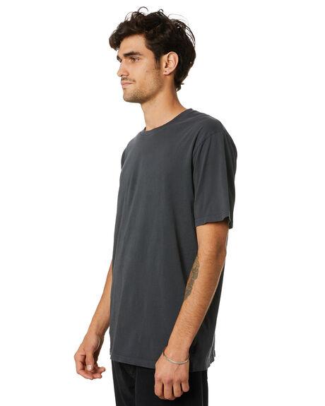 WASHED BLACK MENS CLOTHING RIP CURL TEES - CTEMA98264