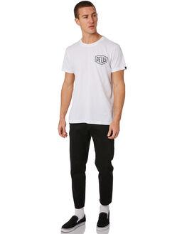 WHITE MENS CLOTHING DEUS EX MACHINA TEES - DMW41808BWHT