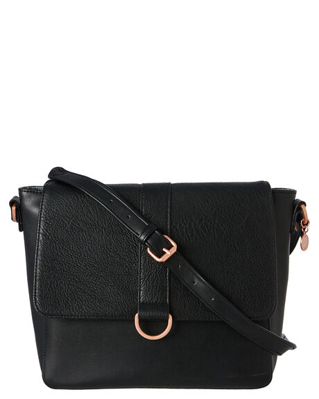 BLACK WOMENS ACCESSORIES RUSTY BAGS + BACKPACKS - BFL0991BLK