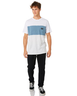 WHITE MENS CLOTHING RIP CURL TEES - CTEQY21000