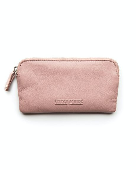 DUSTY ROSE WOMENS ACCESSORIES STITCH AND HIDE PURSES + WALLETS - WW_LUCY_DUSTY_ROSE