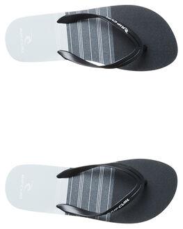 BLACK MENS FOOTWEAR RIP CURL THONGS - TCTE750090