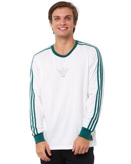 WHITE MENS CLOTHING ADIDAS ORIGINALS TEES - CF5812WHT