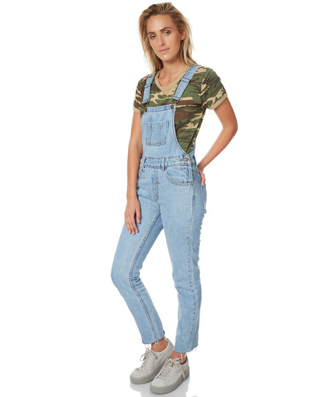 RECKLESS BLUE WOMENS CLOTHING THRILLS PLAYSUITS + OVERALLS - WSMUA7-901ERBLU