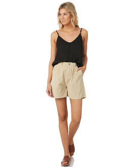 LIGHT FENNEL WOMENS CLOTHING RUSTY SHORTS - WKL0681FEN