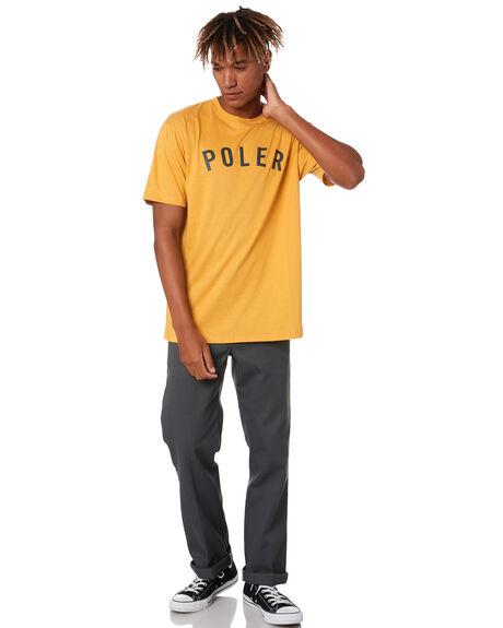 YELLOW CRUST MENS CLOTHING POLER TEES - 202YLWPOL-YLW