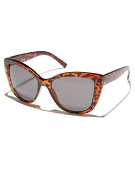 CRYSTAL BROWN WOMENS ACCESSORIES CHEAP MONDAY SUNGLASSES - 0508972CRYBR