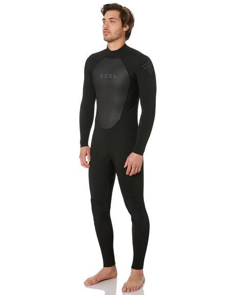 BLACK BOARDSPORTS SURF XCEL MENS - XL-MT43AX18-BLK