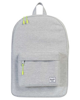 LIGHT GREY XHATCH MENS ACCESSORIES HERSCHEL SUPPLY CO BAGS - 10001-01460-OSLGRY