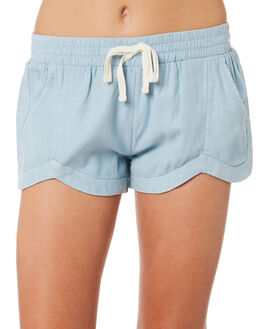 CHAMBRAY KIDS GIRLS BILLABONG SHORTS + SKIRTS - 5582274CBY