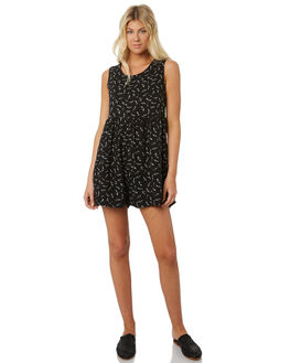 BLACK WOMENS CLOTHING SWELL PLAYSUITS + OVERALLS - S8188448BLACK