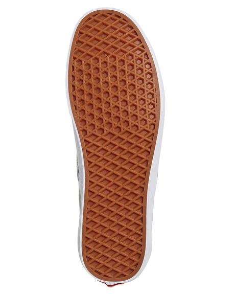 DESERT SAGE WHITE WOMENS FOOTWEAR VANS SLIP ONS - SSVNA38F7U79GRNW