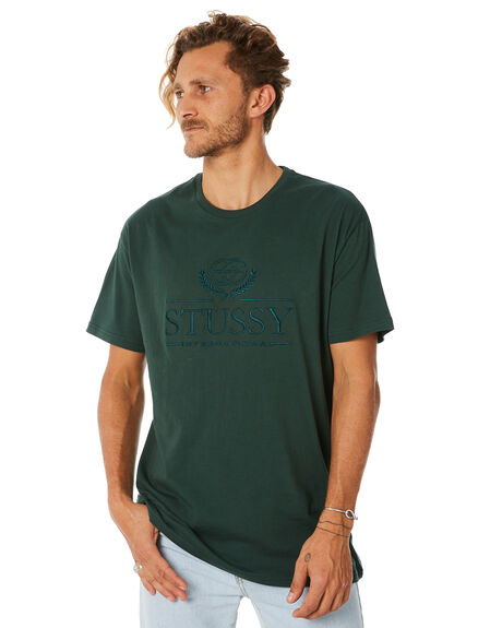 DARK BOTTLE MENS CLOTHING STUSSY TEES - ST087004DBTL