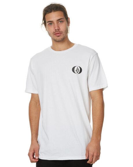 WHITE MENS CLOTHING VOLCOM TEES - A35317G8WHT