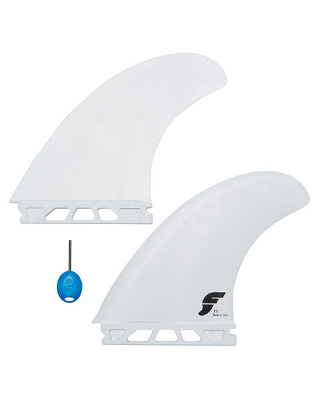 WHITE BOARDSPORTS SURF FUTURE FINS FINS - 1008-304-00WHI