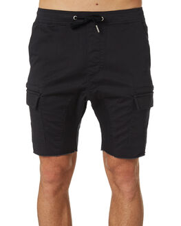 VINTAGE BLACK MENS CLOTHING ZANEROBE SHORTS - 618-VERVBLK