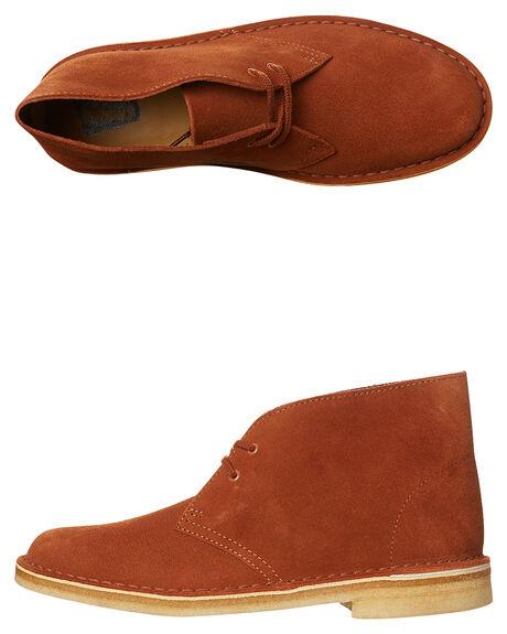 7fea2bd3c29 Clarks Originals Desert Suede Womens Boot - Dark Tan Suede | SurfStitch