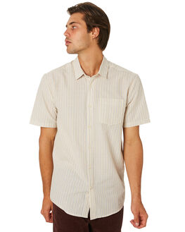 WHITE FLASH MENS CLOTHING VOLCOM SHIRTS - A0431905WHF