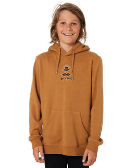 TAN KIDS BOYS RIP CURL JUMPERS + JACKETS - KFERI11046