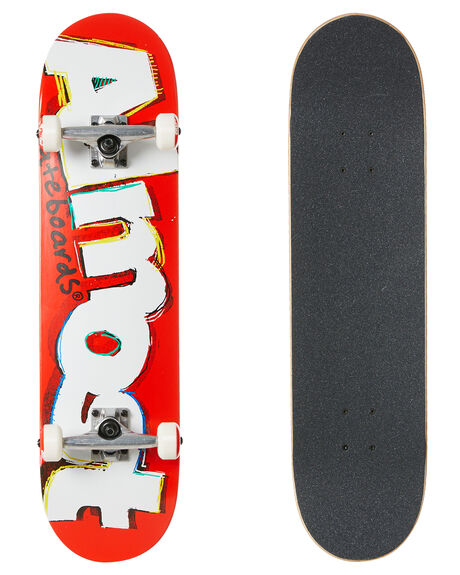 RED BOARDSPORTS SKATE ALMOST COMPLETES - 10523243RED
