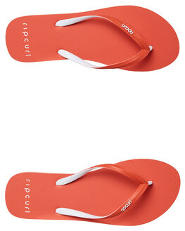 RED WOMENS FOOTWEAR RIP CURL THONGS - TGTE730040
