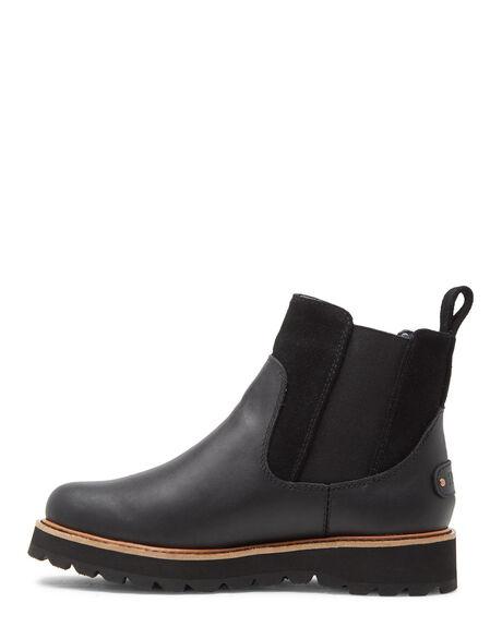 BLACK WOMENS FOOTWEAR ROXY BOOTS - ARJB700657-BL0