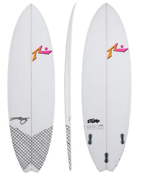 CLEAR BOARDSPORTS SURF RUSTY SURFBOARDS - RUSTUMPCLR