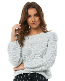 ASH BLUE WOMENS CLOTHING BILLABONG KNITS + CARDIGANS - 6585801ASHB