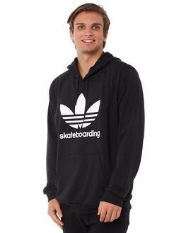 BLACK MENS CLOTHING ADIDAS JUMPERS - CW2356BLK