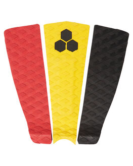 RED YELLOW BLK SURF HARDWARE CHANNEL ISLANDS TAILPADS - 18028100640