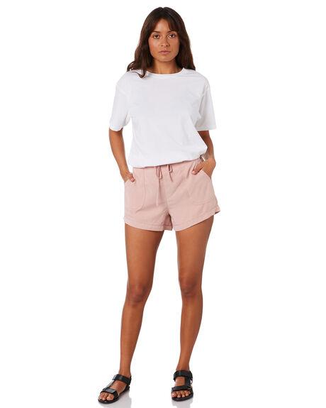 MISTY ROSE WOMENS CLOTHING RUSTY SHORTS - WKL0667MYE