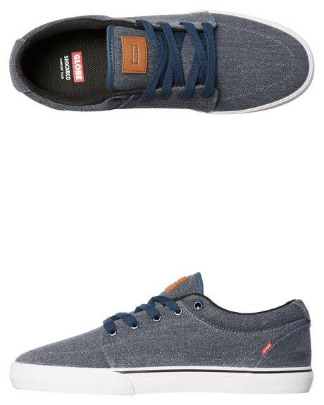 SLATE BLUE MENS FOOTWEAR GLOBE SKATE SHOES - GBGS-12104