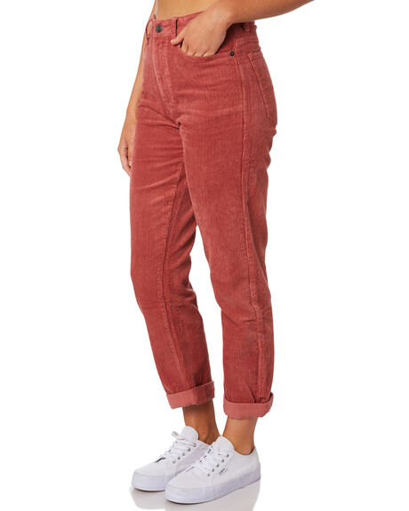 WASHED RED WOMENS CLOTHING RUSTY PANTS - PAL1082WIR